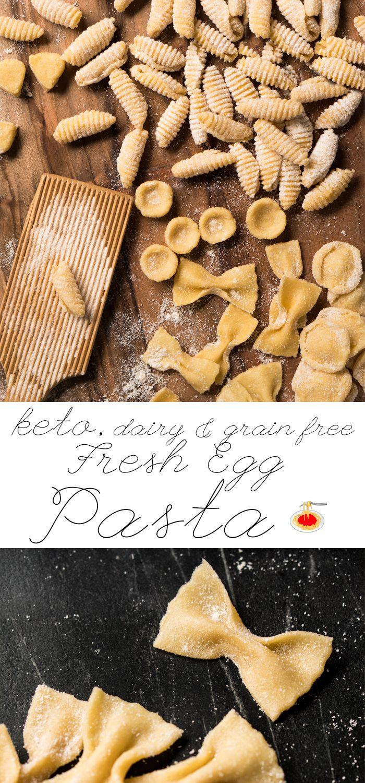 Fresh Egg Grain Free. Dairy Free & Keto Pasta