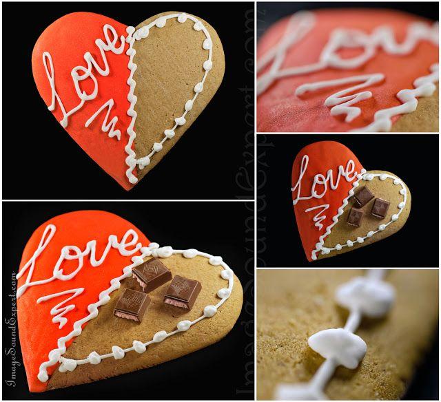 Image and Sound Expert: Fotografie de produs - turta dulce, valentine's da...