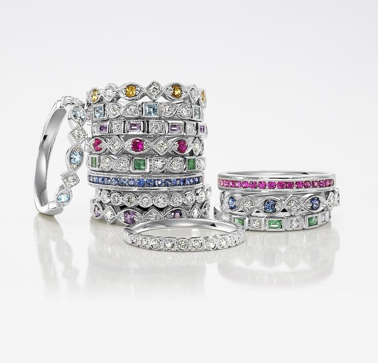 Tacori Stackable Rings