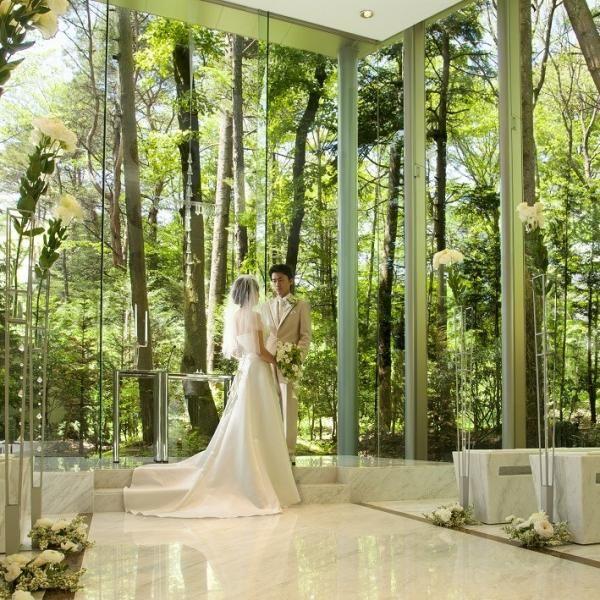 緑が美しい軽井沢での結婚式♡国内リゾートでの結婚式一覧♡ウェディング・ブライダルの参考に!