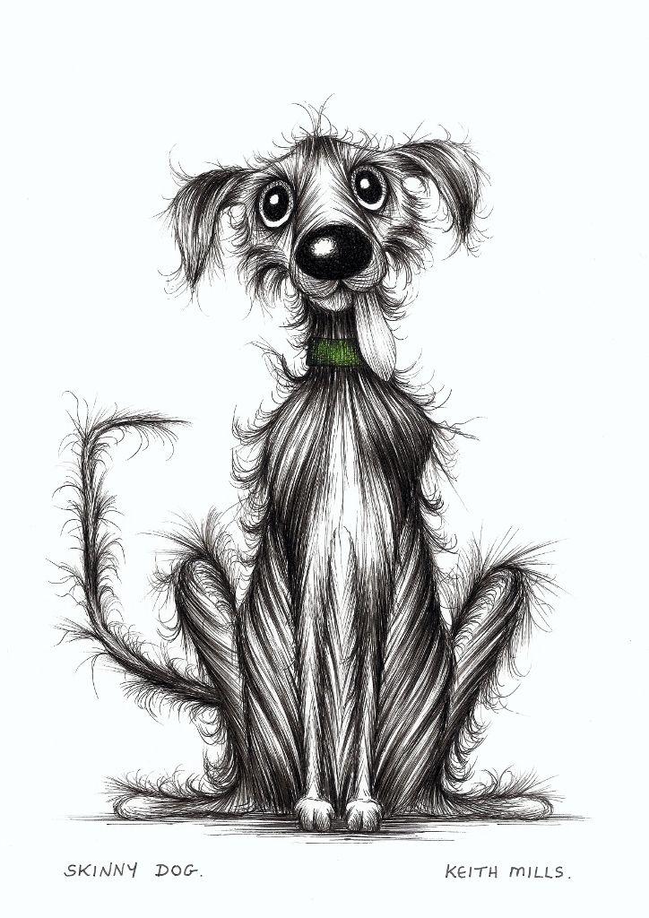 Skinny dog by Keith Mills.