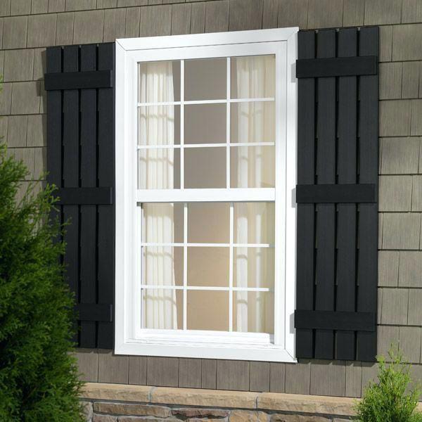 Exterior Wood Shutter Styles Different Exterior Shutter Styles
