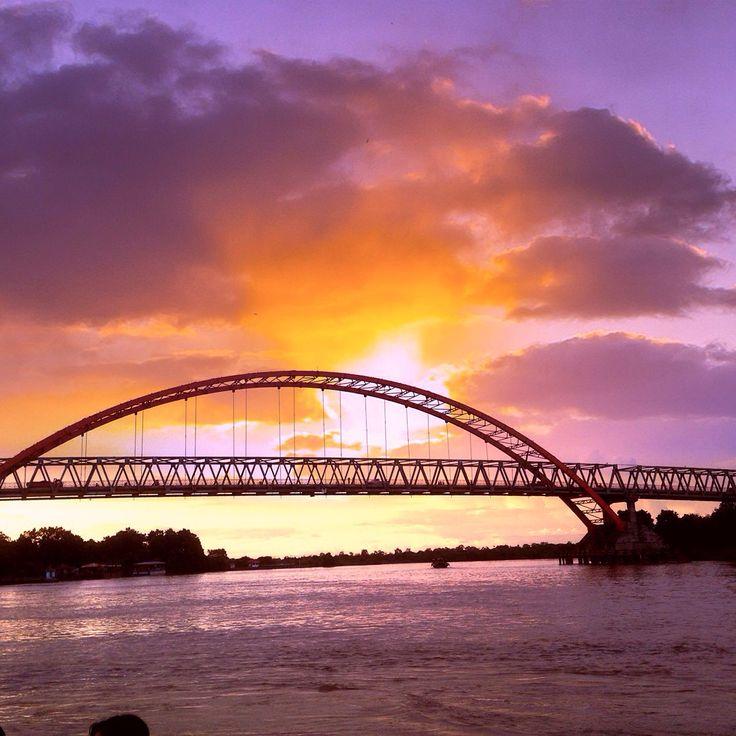 Kahayan River, Palangka Raya , Kalimantan Tengah, Indonesia