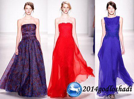 Длинные и короткие выпускные платья 2015 с фото