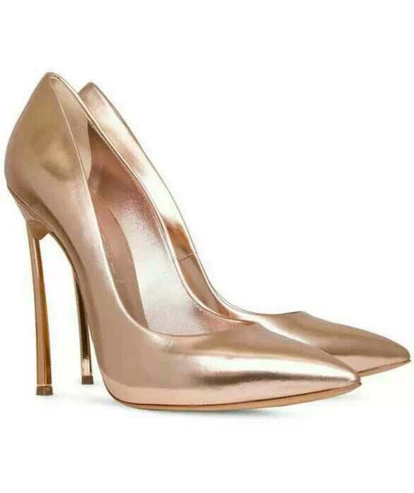 Pink High Heel Sparkle Shoes 67.50