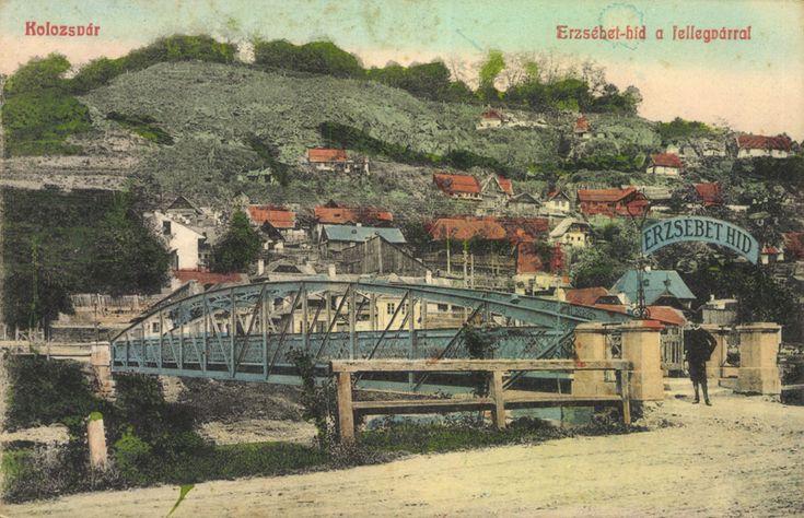 Erzsébet-híd a Fellegvárral_Kolozsvár