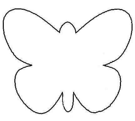 Ms de 25 ideas increbles sobre Plantilla de mariposa en