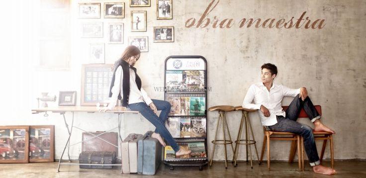 Korea Pre-Wedding Photoshoots - WeddingRitz.com » Obra Maestra Studio New Sample (Korea pre-wedding photos)
