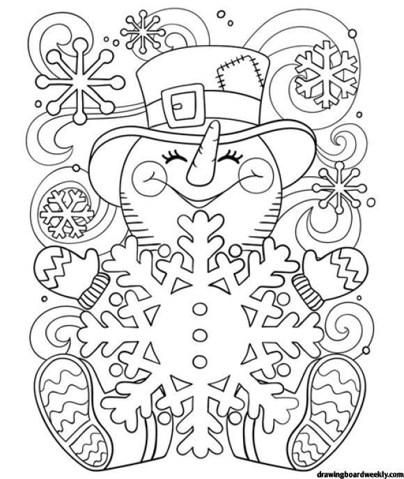 Coloring Page Snowman Hd Snowman Coloring Pages Christmas Coloring Sheets Free Coloring Pages