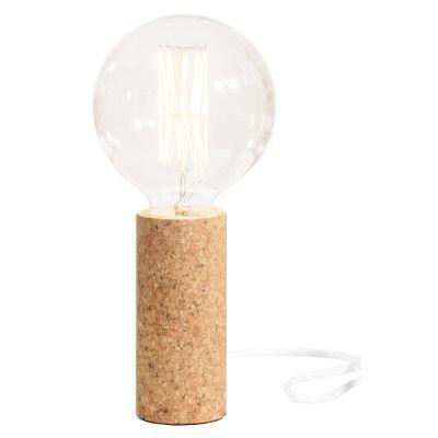 Globe Cork bordlampe | lamp | kurk | woontrend | design | verlichting