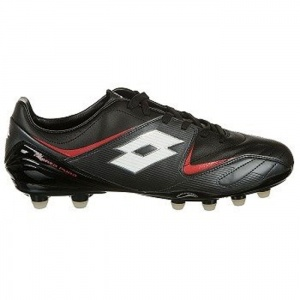 Lotto EC1279810 Soccer Cleats Mens Black Leather - ONLY $70.00