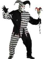 Plus Size Evil Jester Costume for Adults - Party City