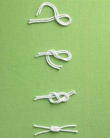 Sailor Knot for Favor Boxes - Martha Stewart Weddings Inspiration #celebstylewed #bridal #nuptials
