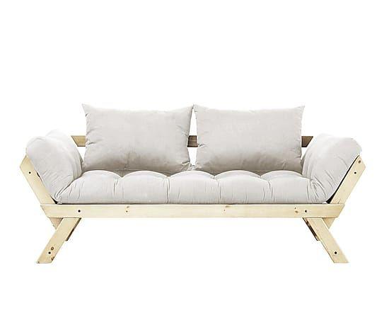 Sof cama fut n bebop natural bricolaje reciclado y for Futon cama precio