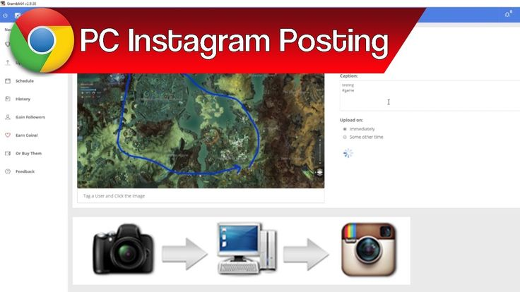 How to Post Pictures to Instagram from PC – Instagram Posting from Compu...