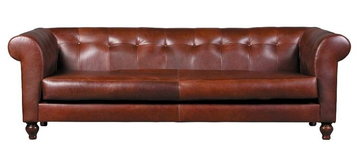 Napoleon 3 Division Sofa in Leather   Wetherlys