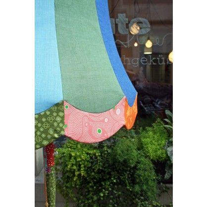 Bunte stilvolle Vintage Stehleuchte (upcycled) von Ute Günther wachgeküsst - qip home