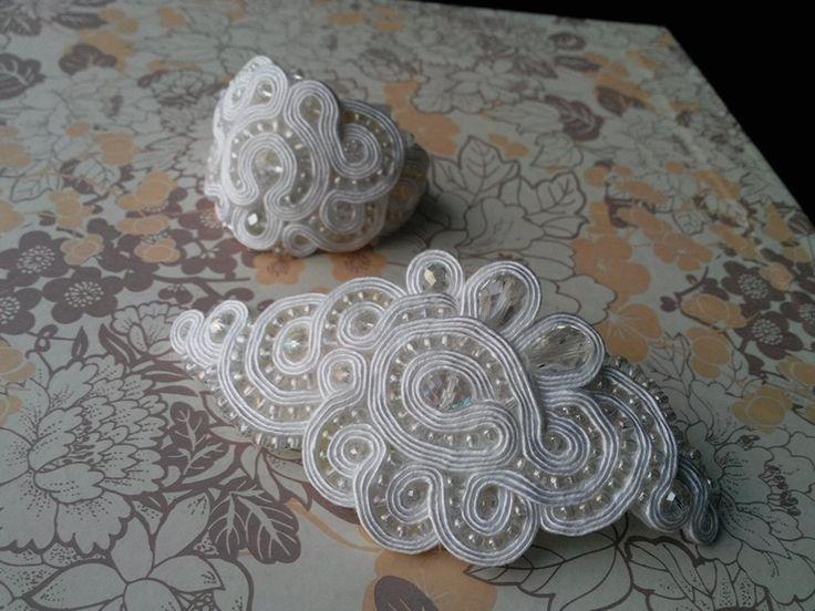 Soutache bridal set
