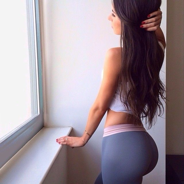 Nadine Velazquez Yoga Pants Pin by Aireal V...