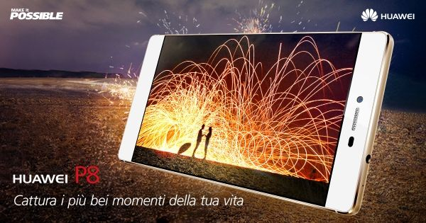 #P8Huawei è più di uno smartphone con fotocamera, è uno strumento che scatena il tuo spirito creativo. #ad