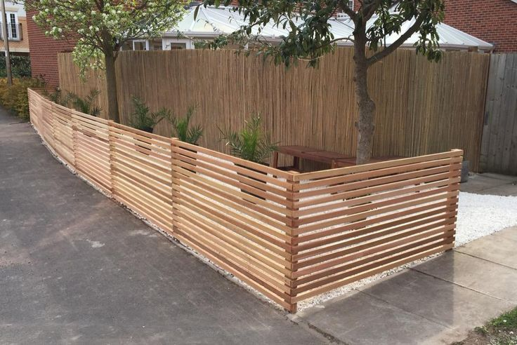 17 Best Images About Slatted Screens & Fencing On