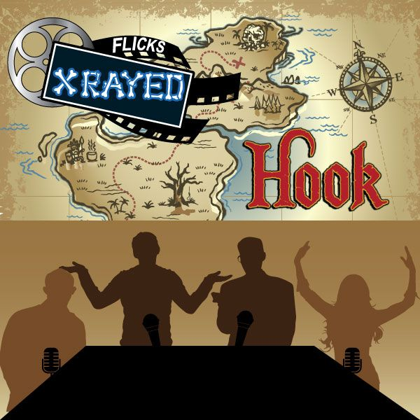 Season 1 Episode 12 of Flicks XRayed is about the film Hook, Jeff and Tony are Joined by sound guy Josh and Natasha. The word of the Day is Ethereal and we discuss 90's bands and what the original cast would have looked like.