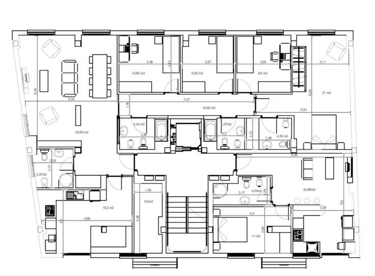 Finest diseo realizado para la reforma de una vivienda y for Miglior design della planimetria