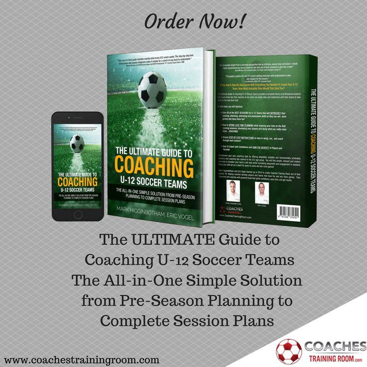Order Today! The Ultimate Guide To Coaching U-12 Soccer Teams provides a complete coaching library of professional sessions and must-know tips that coaches of any level can easily implement with their teams to take them to the next level FAST! https://coachestrainingroom.com/u12book  #ayso #youthsoccer #coachingsoccer #soccerdrill #soccerdrills #soccercoaches #nikesoccer #nscaa #youthcoach #kidssoccer #ussoccer #uswnt #usmnt #barclays #soccertraining #soccerplan #soccerplans #soccersession…