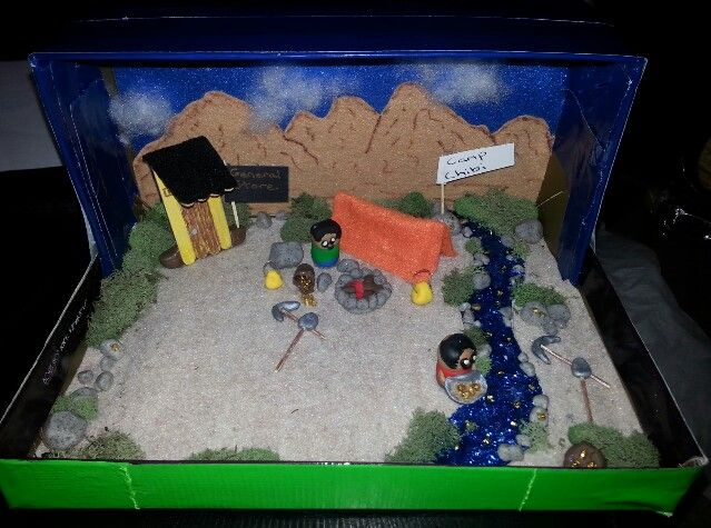 My daughter's Gold Rush Project.