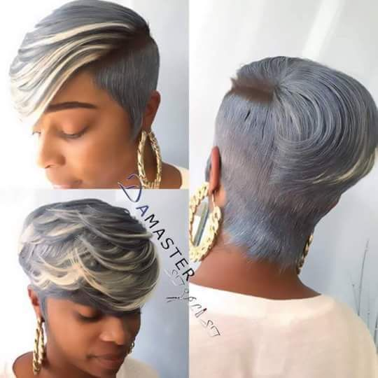 80 best 27 piece hairstyles images on pinterest 27 piece gray blonde love this hair style urmus Gallery
