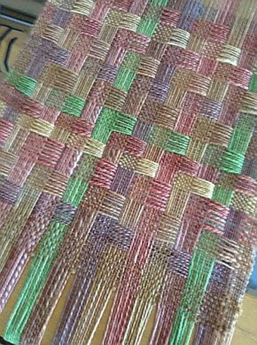 Ravelry: Caloosa's Atwater Deflected double weave scarf