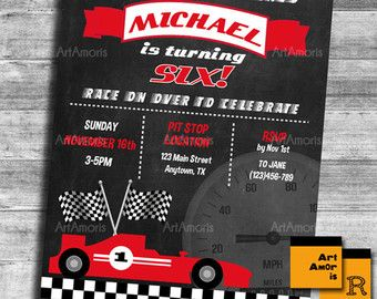 cars invitation disney cars Invitation lightning mcqueen