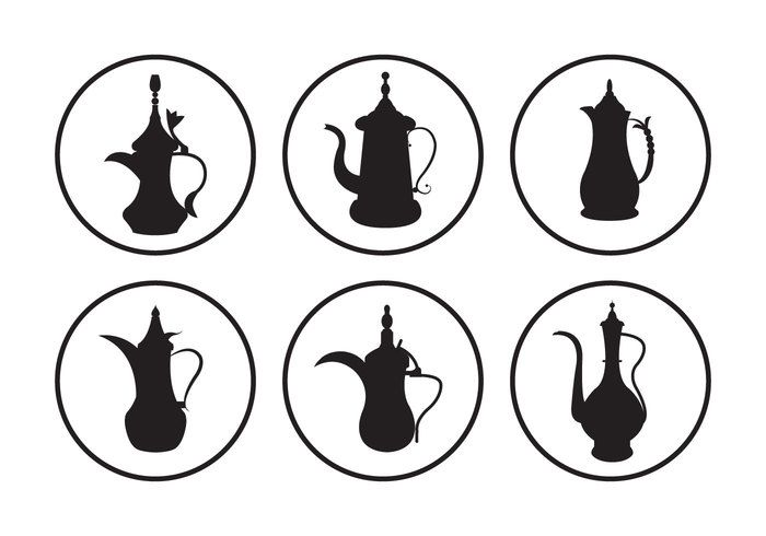 Arabic Coffee Pot Vectors -   Collection of vintage arabic coffee pot vectors. Hope you can use it in your project.  - https://www.welovesolo.com/arabic-coffee-pot-vectors-4/?utm_source=PN&utm_medium=weloveso80%40gmail.com&utm_campaign=SNAP%2Bfrom%2BWeLoveSoLo