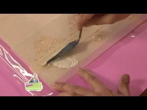 MONITOR | Martha Cacacio | Como Decorar un Almohadón Vintage | Manos a la Obra - YouTube