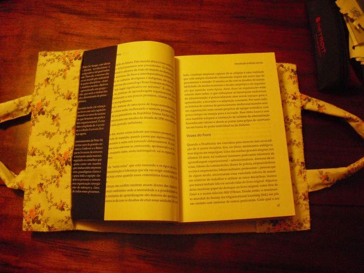 Artesanato: Moldes e PAP´S : 1 Projeto por Mês - Porta Livro em Tecido e Feltro