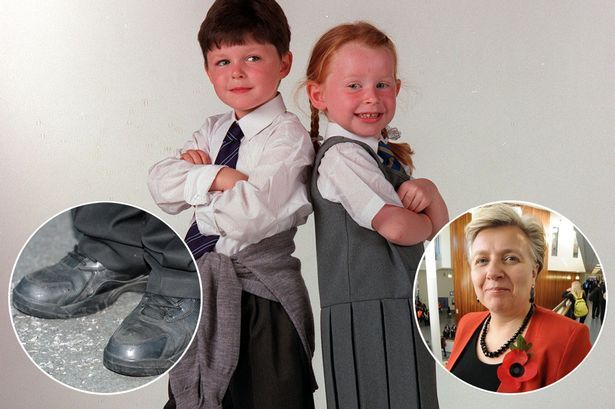 Head teacher boots out 250 pupils - but do school uniforms REALLY matter? - Mirror Online ~~~ Battle lines have been drawn over school uniforms again after the Hanson Academy in Bradford sent 215 pupils home in just two days for flouting regulations.