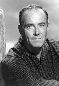 Henry Fonda, one of Hollywood's greatest actors.