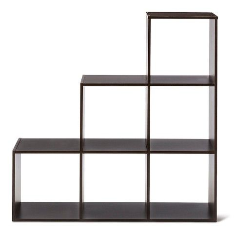 room essentials 3 2 1 cube organizer espresso storage cat climbing furniture all in one. Black Bedroom Furniture Sets. Home Design Ideas