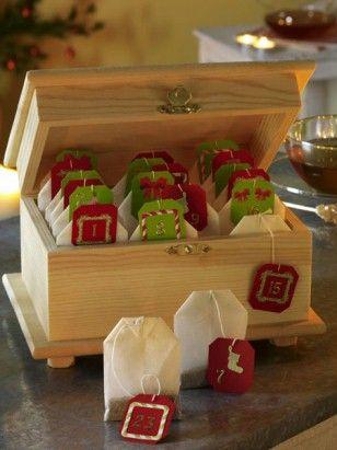 Tee Adventskalender, en kopp varje dag fram till jul...