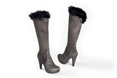 Orietta Mancini brown suede boots