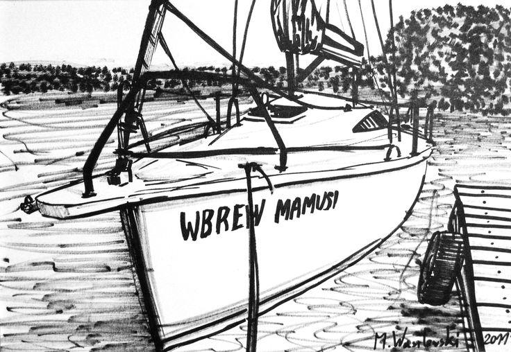 Wbrew Mamusi, A4, brystol, marker [private collection]