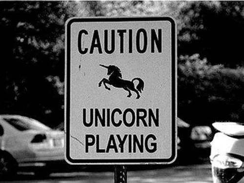 What if Unicorns were real...but they were total jerks? NOT Majestic and fabulous.  How sad would that be?!?