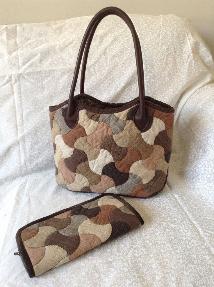 Bag and wallet made in Japanese fabrics....so gourgeus