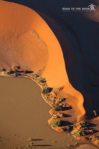 Aerial View - Sossusvlei / Namibia / 2011 / Africa