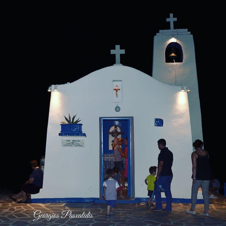 THE SMALL CHURCH OF SAINT NICOLAUS.....Rafina..Attika...GREECE.....