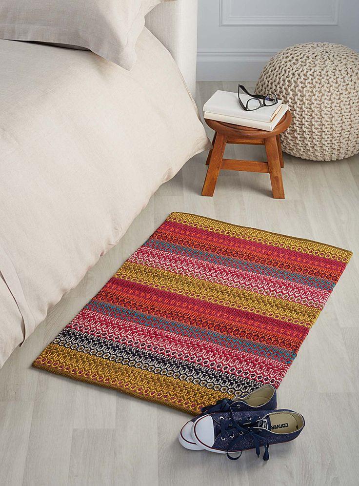 Bohemia stripe rug 60 x 90cm - Patterned - Assorted