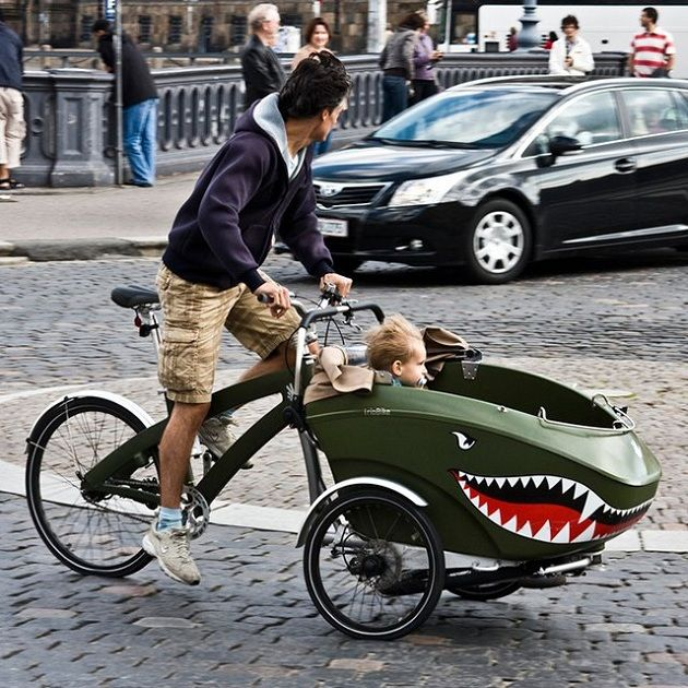 Fighter Pilot Inspired trioBike