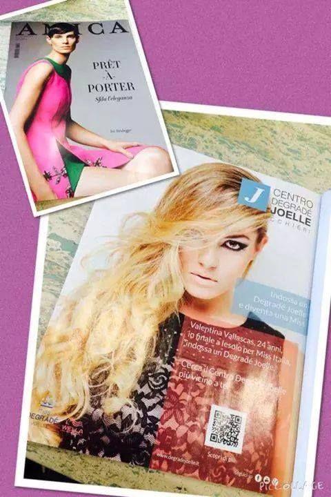 Amica - ottobre 2014 si parla di noi...  #cdj #degradejoelle #riviste