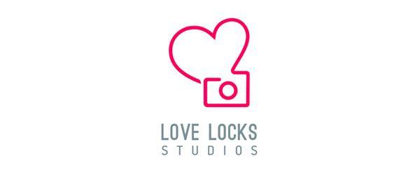 Love Locks Studios Brand Logo Design