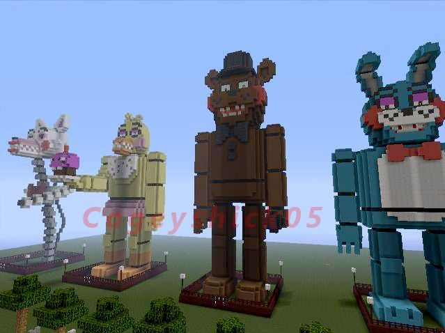 Minecraft Toy Freddy : Fnaf minecraft by cageyshick five nights at